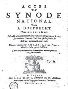 Acts of Synod of Dort