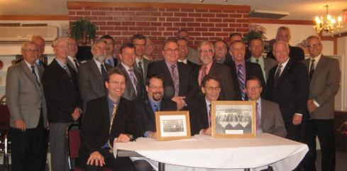 Synod 2013 delegates -- photo courtesy of Rev. D. Boersema.