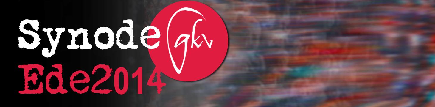 Banner Synode GKv Ede 2014