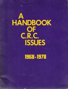 Handbook of CRC Issues