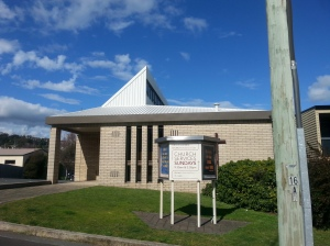 Free Reformed Church in Launceston.