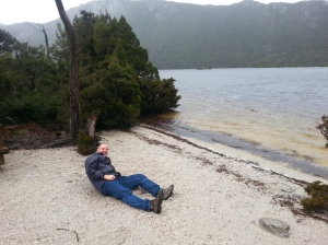 But yes, they do have beaches!  This one is on lovely Dove Lake.
