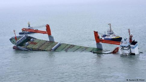 Dutch Ship Sinking
