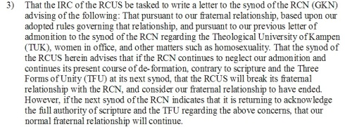 RCUS on GKN