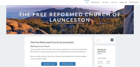 FRC Launceston Website